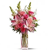 Flower Bouquets: Pretty in Pink Mother's Day Bouquet