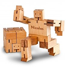 Personalized Keepsake Gifts: Personalized Cubebot