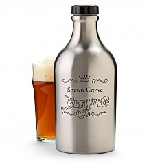 Wine Accessories & Decanters: Stainless Steel Beer Growler