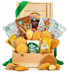 Coffee & Tea Gift Baskets: Starbucks® Coffee Lover's Bounty