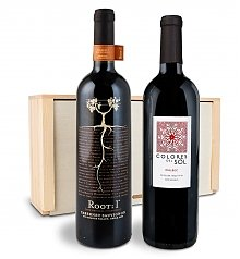 Wine Gift Crates: Beyond the Border Wine Duo