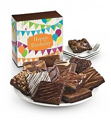 Cakes and Desserts: One Dozen Birthday Brownies
